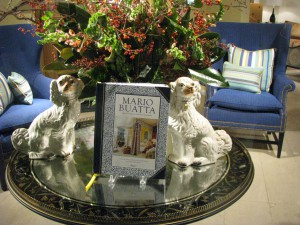 Mario Buatta book display