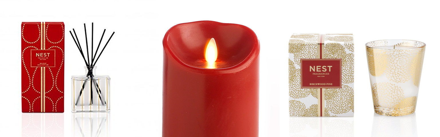 Holiday Candles Lewes Rehoboth Delaware Interior Design